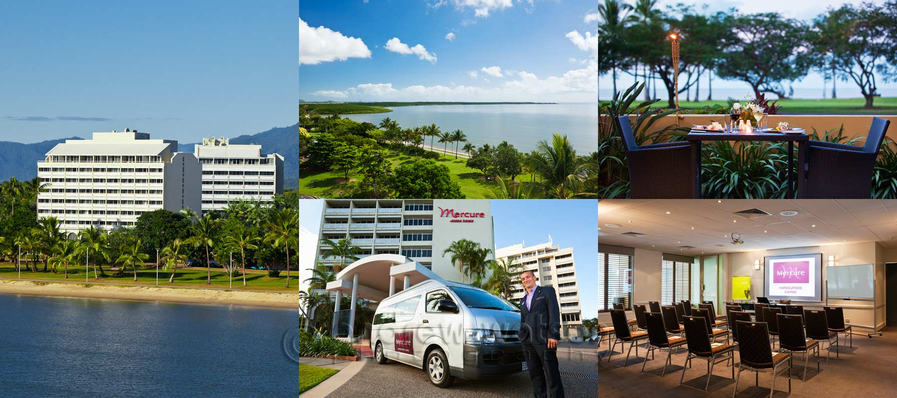 Hotel photography - Mercure Cairns Harbourside