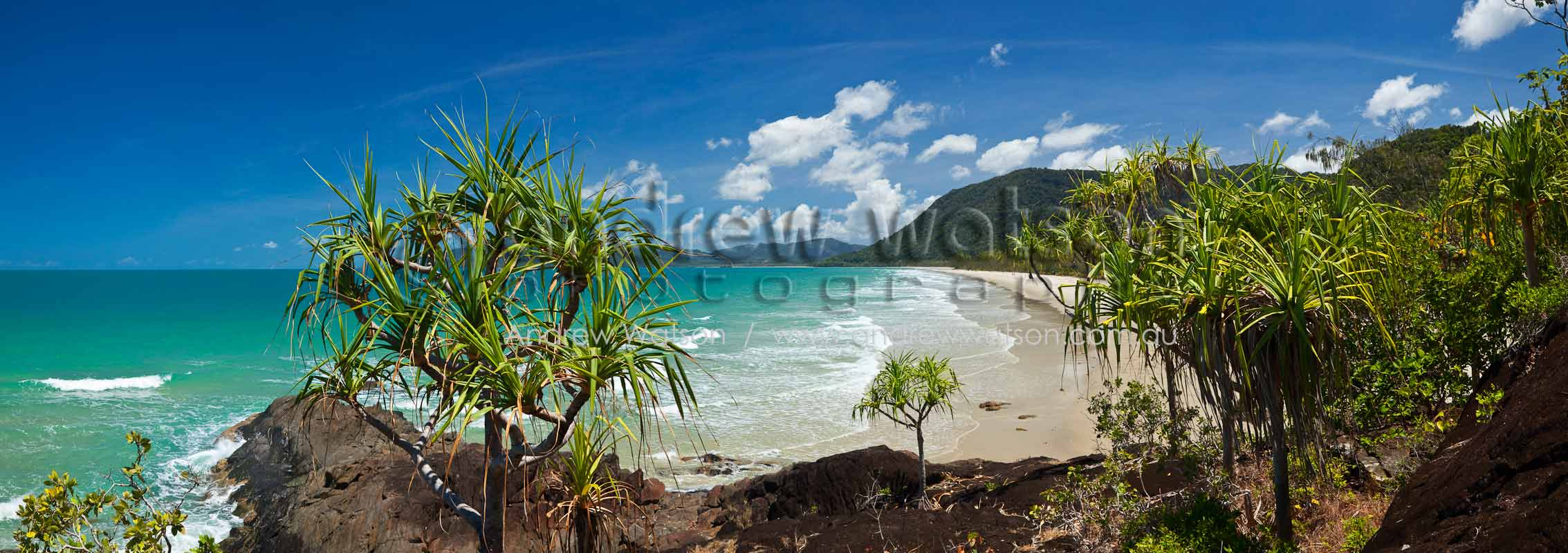View along Noah's BeachDaintree National Park, North QueenslandImage available for licensing or as a fine-art print... please enquire