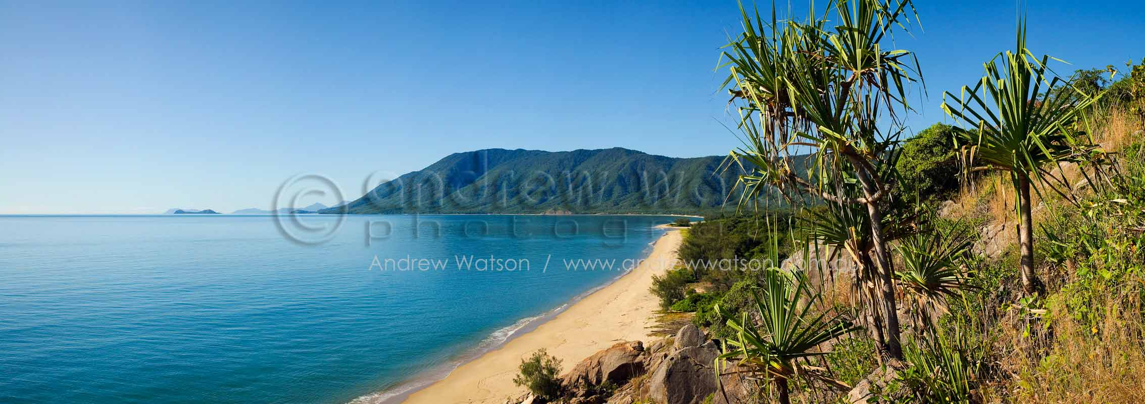 View along Wangetti Beach from Rex's LookoutCairns, North QueenslandImage available for licensing or as a fine-art print... please enquire