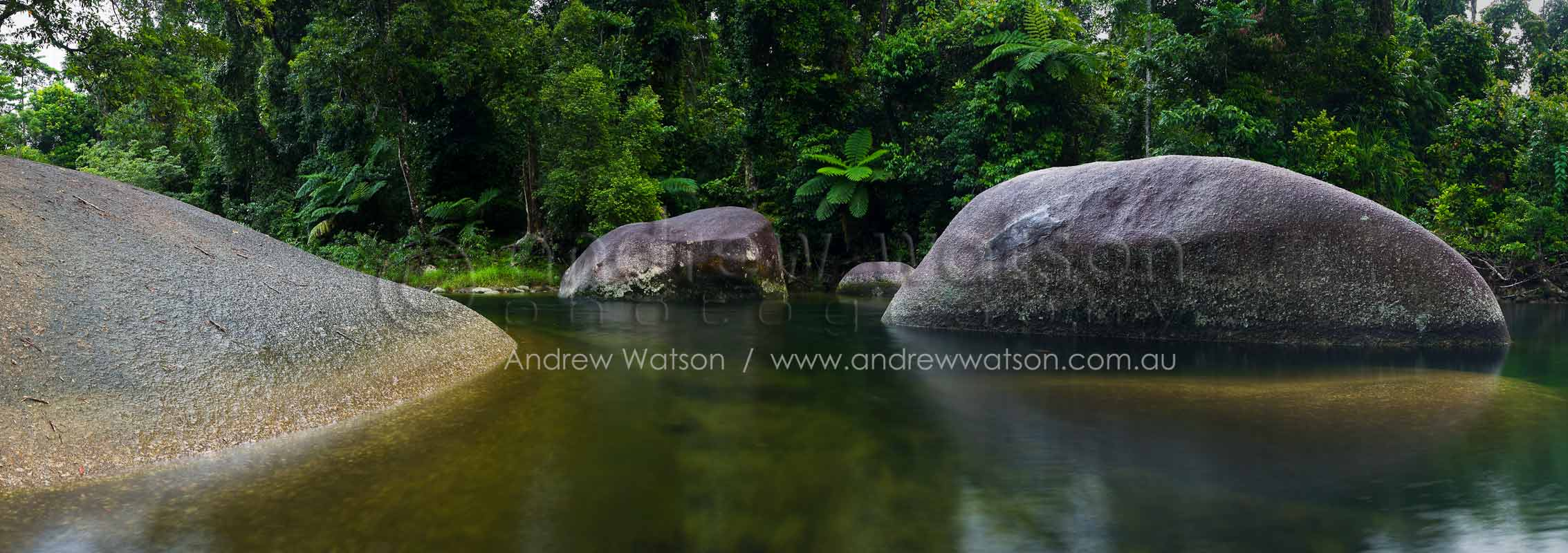 Freshwater swimming hole at the Babinda BouldersBabinda, North QueenslandImage available for licensing or as a fine-art print... please enquire