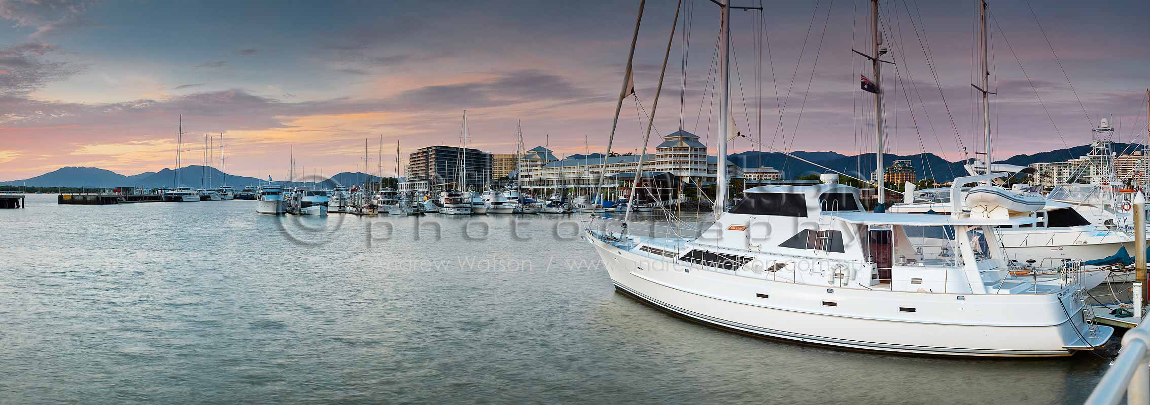 Superyachts in Marlin MarinaCairns, North QueenslandImage available for licensing or as a fine-art print... please enquire