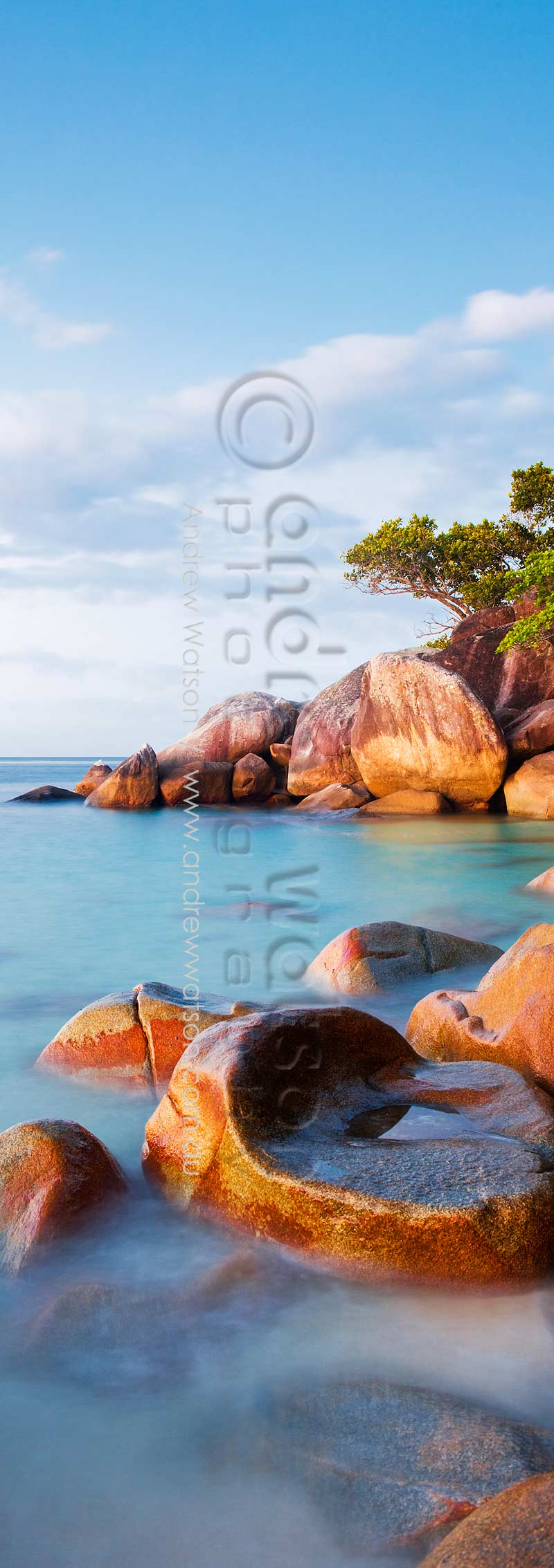Twilight scene at Nudey BeachFitzroy Island, Cairns, North QueenslandImage available for licensing or as a fine-art print... please enquire