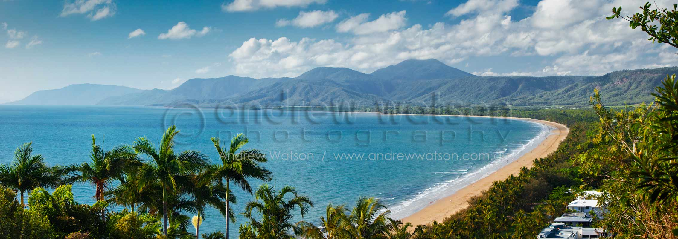 View of Four Mile Beach from Flagstaff HillPort Douglas, North QueenslandImage available for licensing or as a fine-art print... please enquire