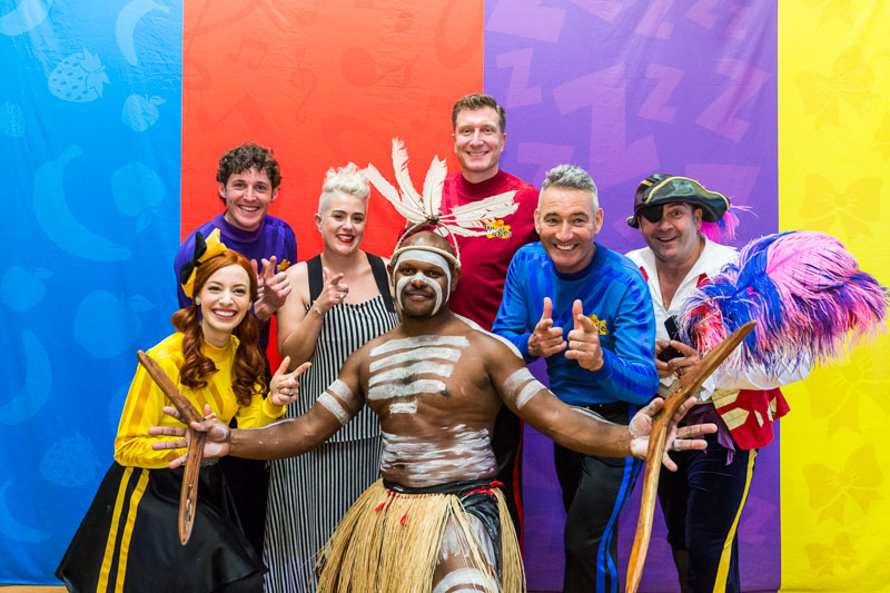 The Wiggles at Yarrabah Band Festival 2016 with Katie Noonan and Nathan Schreiber