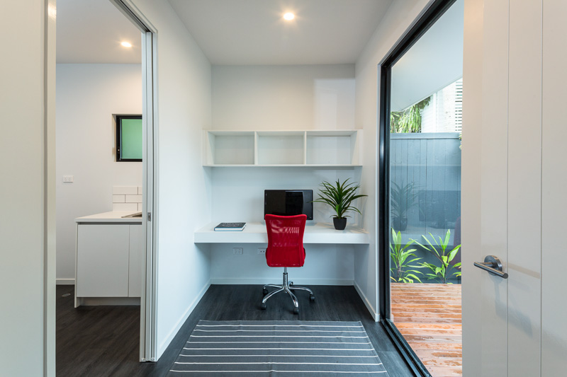 Home office interior in Cairns residential home