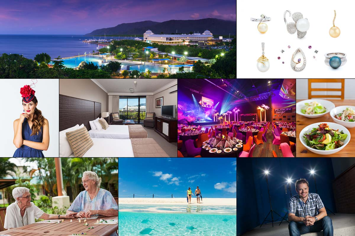 Mix of commercial photos from North Queensland and the Great Barrier Reef by Cairns professional photographer