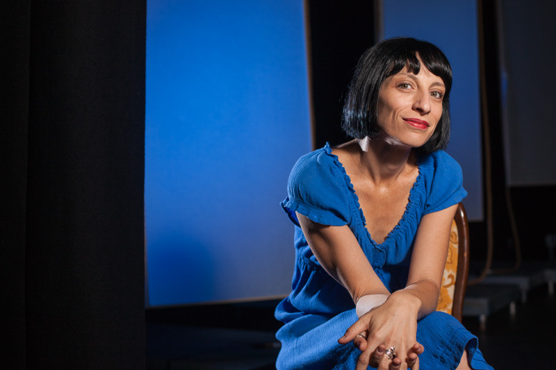 Editorial portrait of artistic director, Roz Pappalardo, for CityLife Magazine Cairns