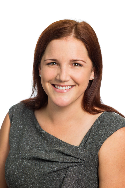 Head shot of staff recruitment executive with white background, Cairns
