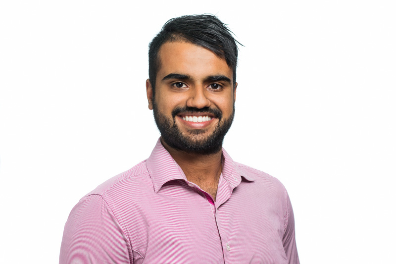 Professional headshot of male accountant with white background, Cairns