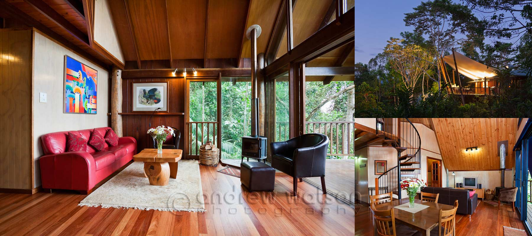 Accommodation Photography - Rose Gums Wilderness Retreat, Atherton Tablelands
