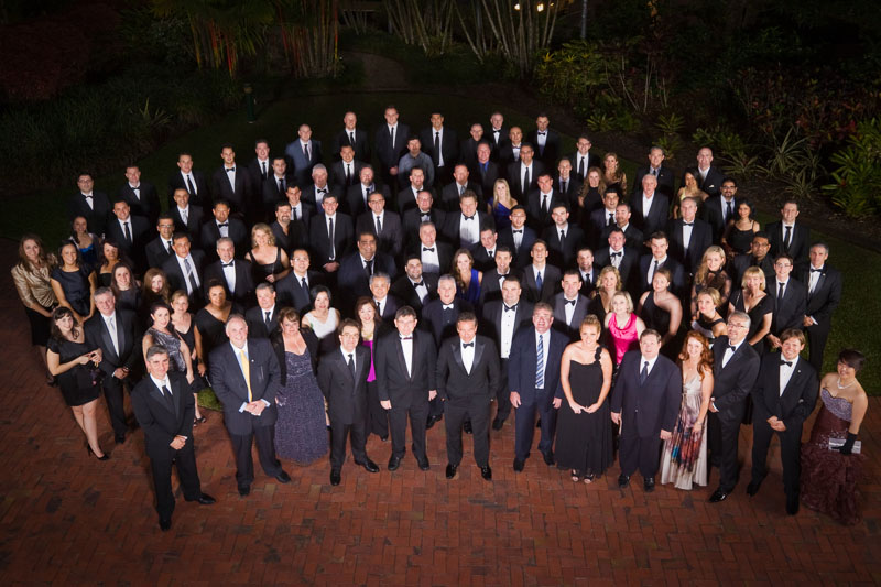 Group photo of delegates at Yellow Brick Road Conference 2012 in Cairns
