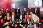 Table photo of delegates at Clark Rubber Conference Gala Dinner at Pullman Cairns International