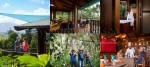 Tourism Photography - Images of couple relaxing at a Wilderness Retreat on the Atherton Tablelands