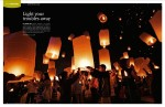 Magazine photography - Yi Peng Lantern Festival in Chiang Mai, Thailand.  Inside story for Blue Wings inflight magazine.