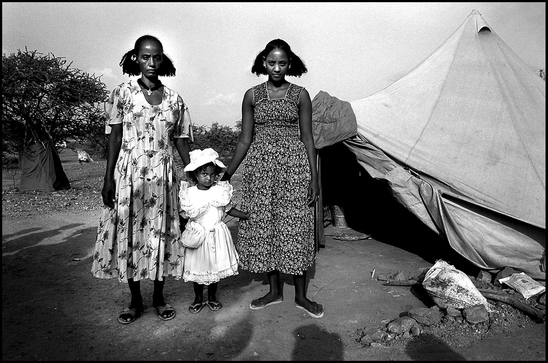 Refugee camp, Eritrea