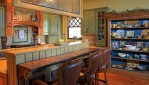 Kitchen custom designed home by Pavelchak Architecture in Blowing Rock, North Carolina, near Boone.