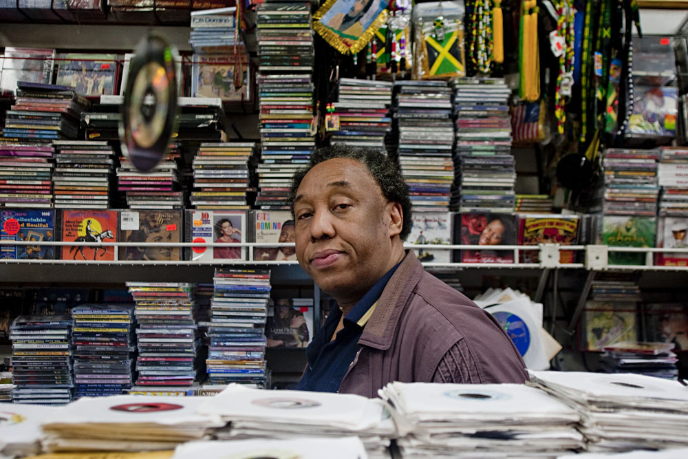 Earl Moodie is the manager at Moodie's Records at 3976 White Plains Rd. in Wakefield.  Moodies specializes in  Jamaican records and cds.