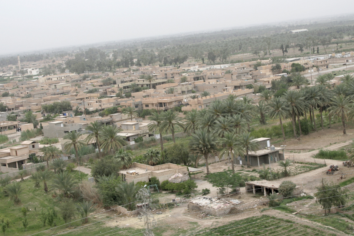 The Village of Yusufiyah was one of the larger ones in southwest Baghdad.