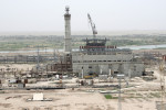 Rumor has it Saddam Hussein's government had commissioned a Russian contractor to build the power plant, but ran out of money to pay them.  We made this power plant our base due to the enormous size and high vantage points it allowed.