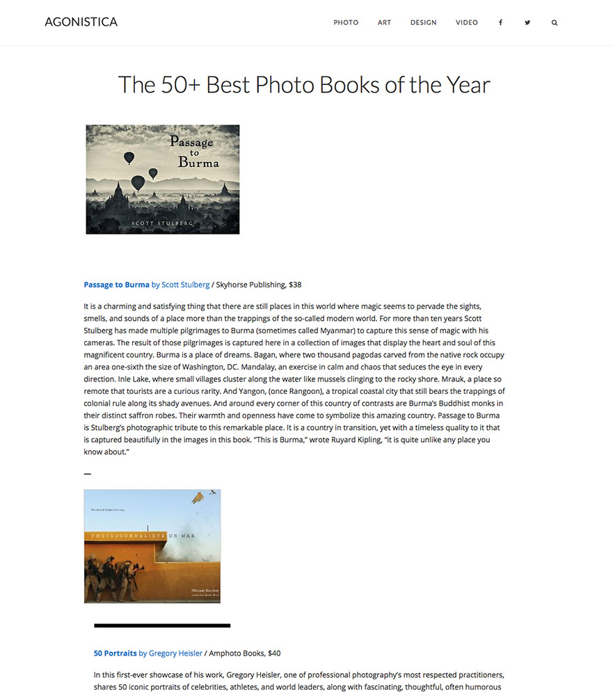 My book in top 50 books of the year