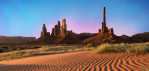 Totem Pole in Monument Valley, Arizona
