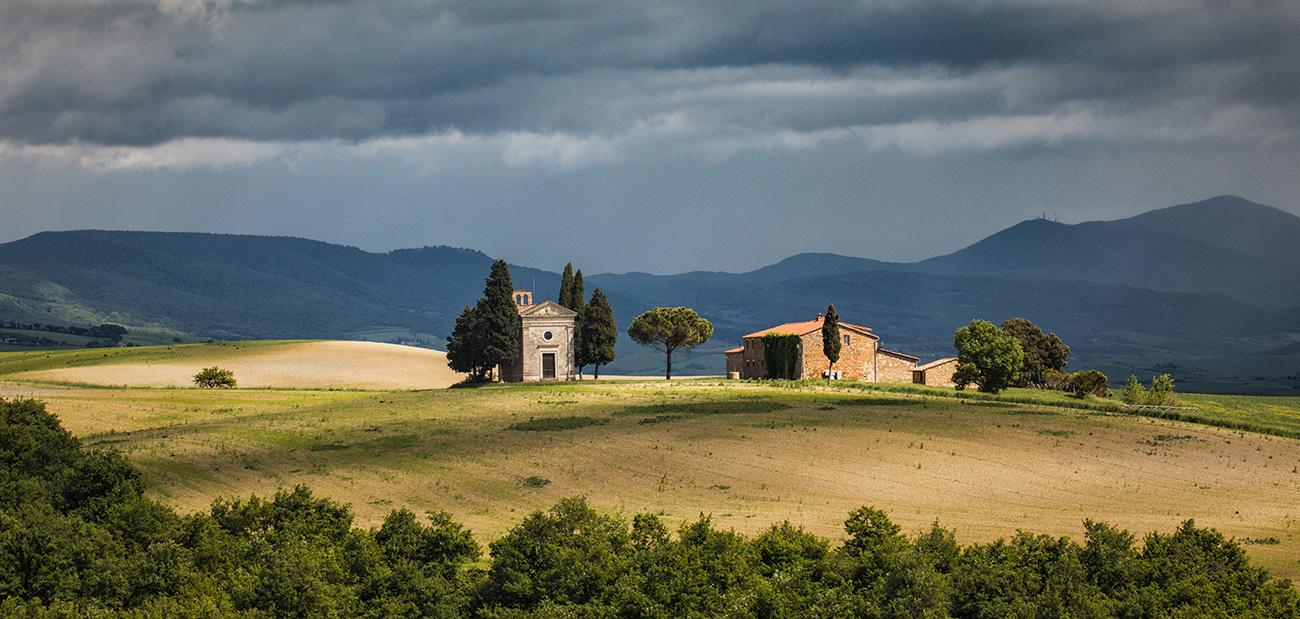 ViaLeta Chapel in Tuscany