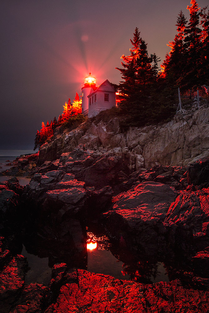 The Bass Harbor Lighthouse