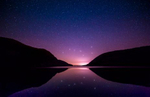 The Big Dipper and reflection, Acadia National Park, Maine