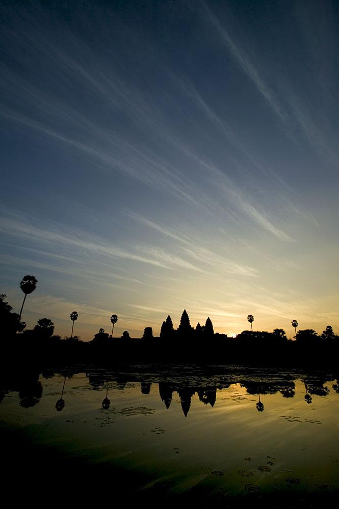 the main temple at Angkor Wat