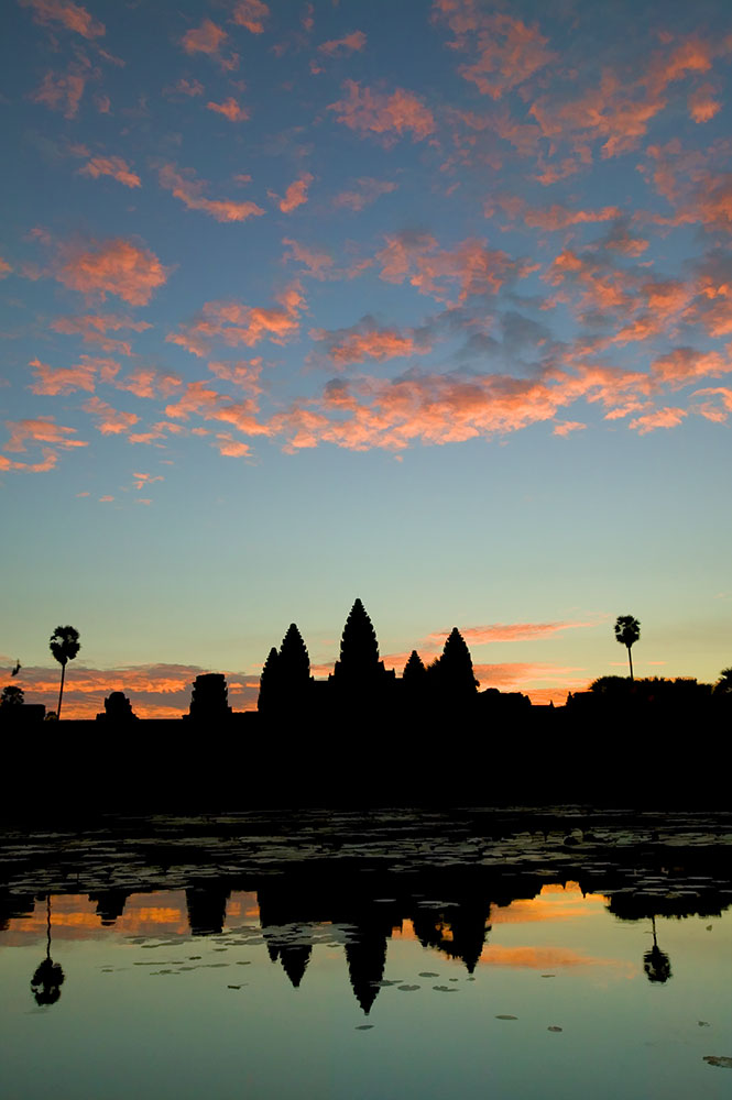 the main temple at Angkor Wat