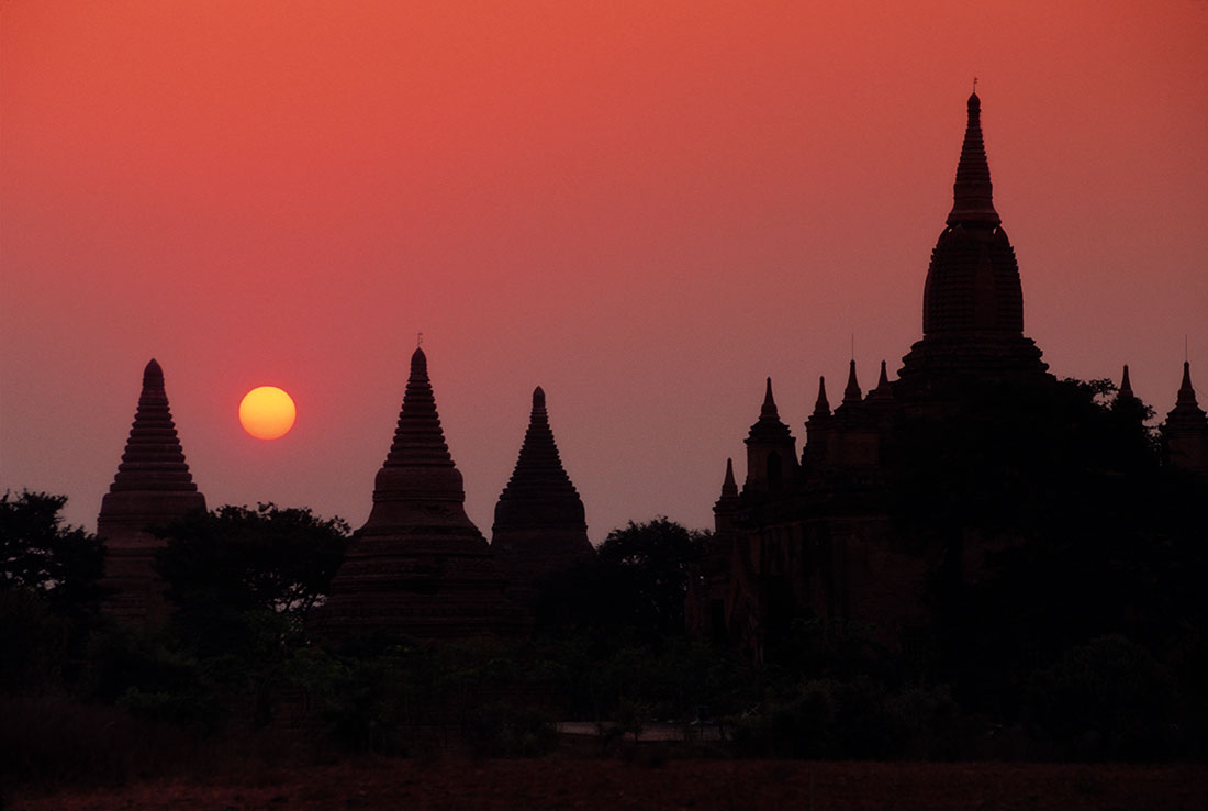 The incredible temples of Pagan, Burma