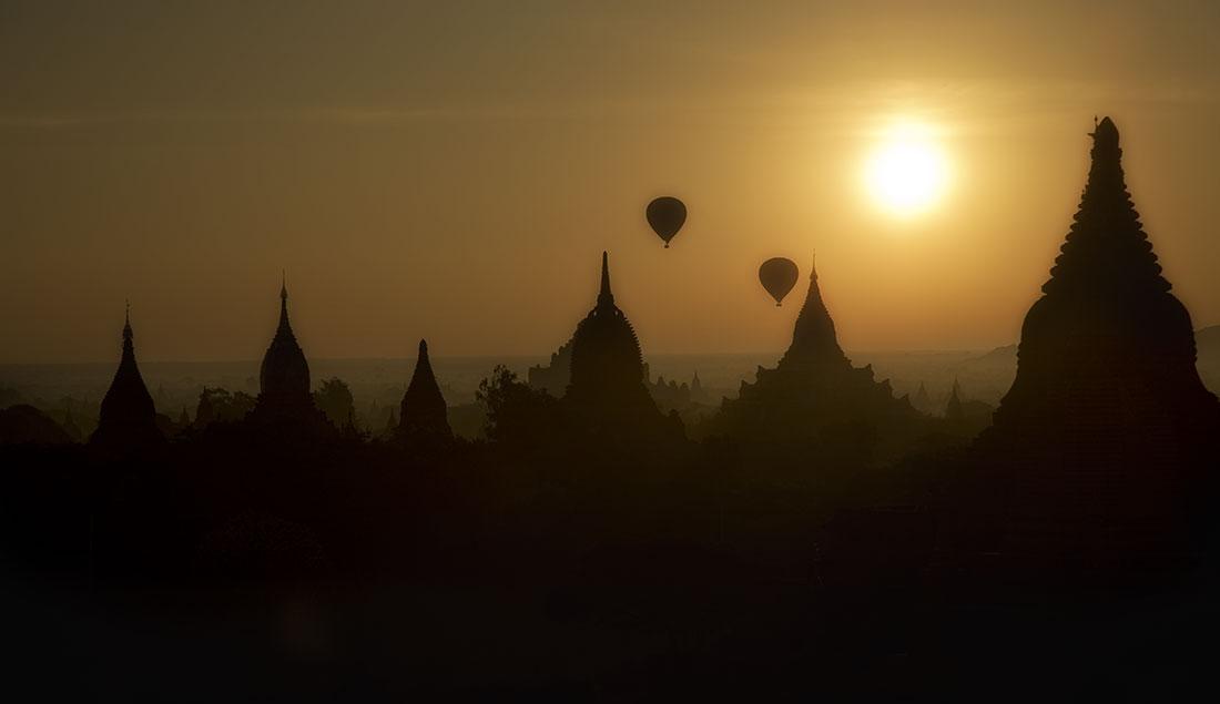 The incredible temples of Pagan, Burma