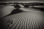 The amazing Mesquite Sand Dunes at sunrise