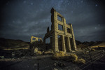 Rhyolite Ghost Town near Beatty, Nevada