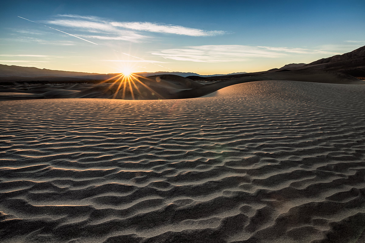 Sunrise on the dunes