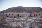 Shooting in Badwater at sunrise
