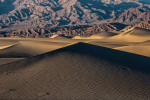 The Mesquite sand dunes at sunset