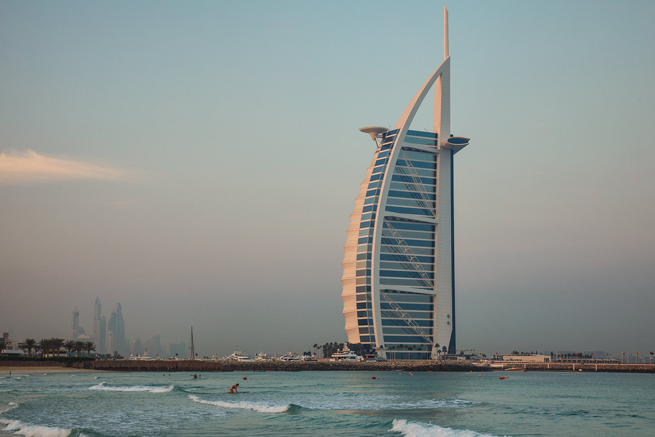 The incredible Burj el Arab