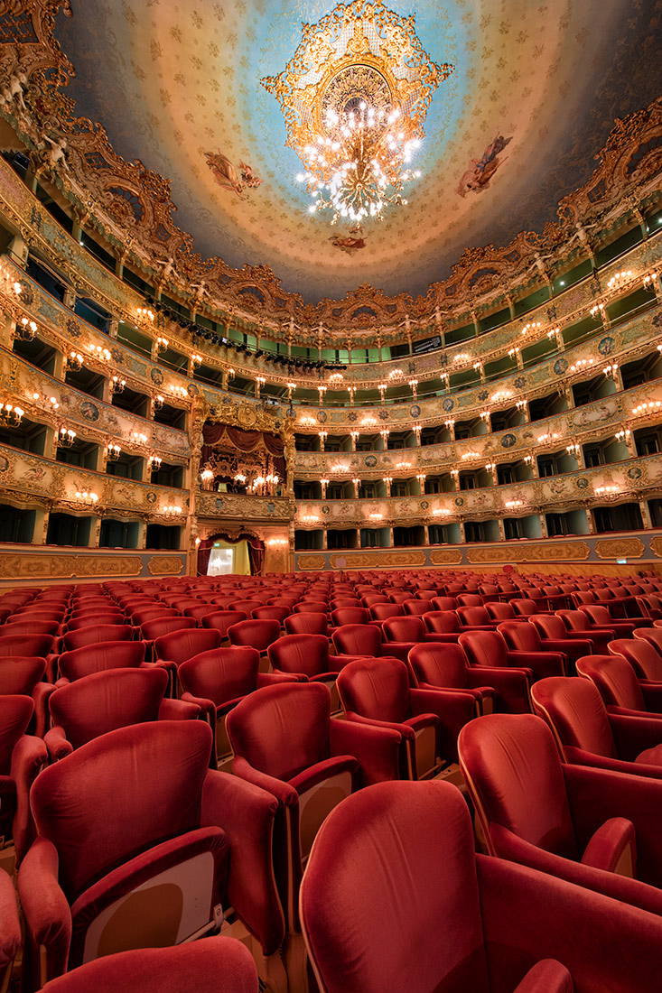 The Fenice Theater in Venice