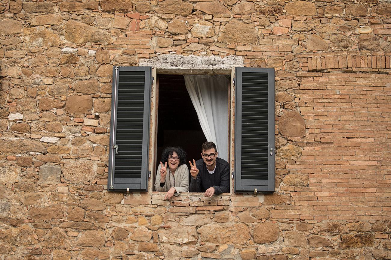 Marie Eva and Ricardo in Tuscany