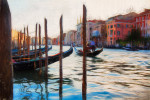 The gondolas of Venezia