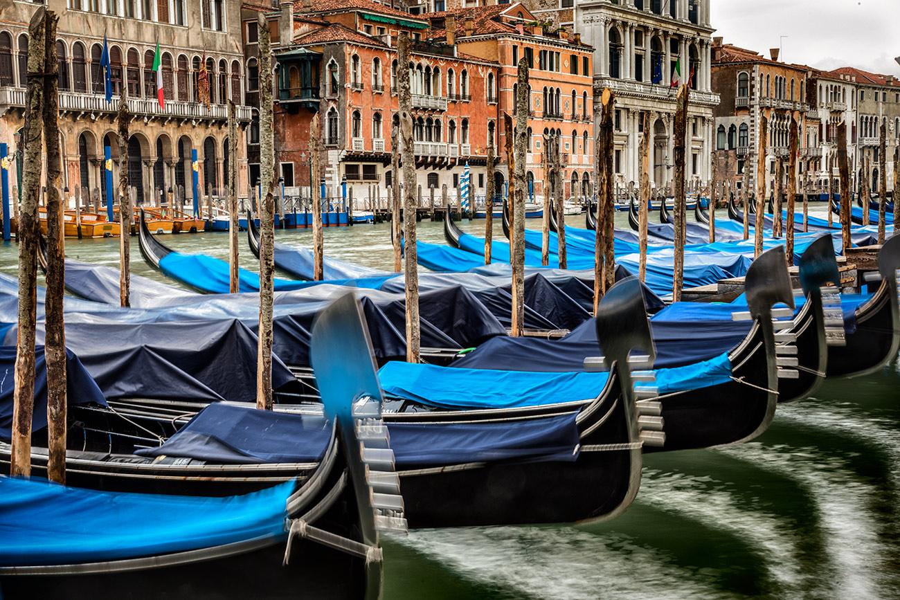 The Gondolas of Venice