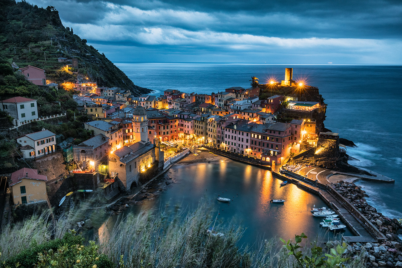 Vernazza after dark