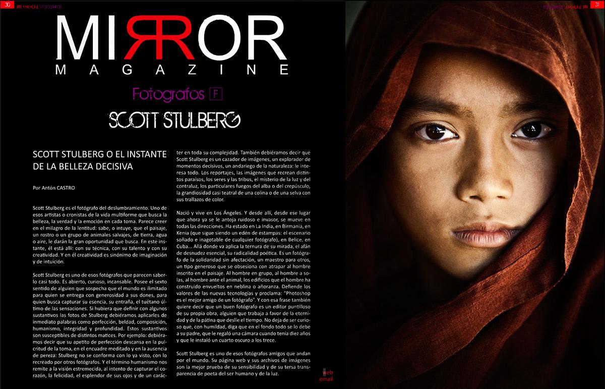 Interview for Mirror Magazine