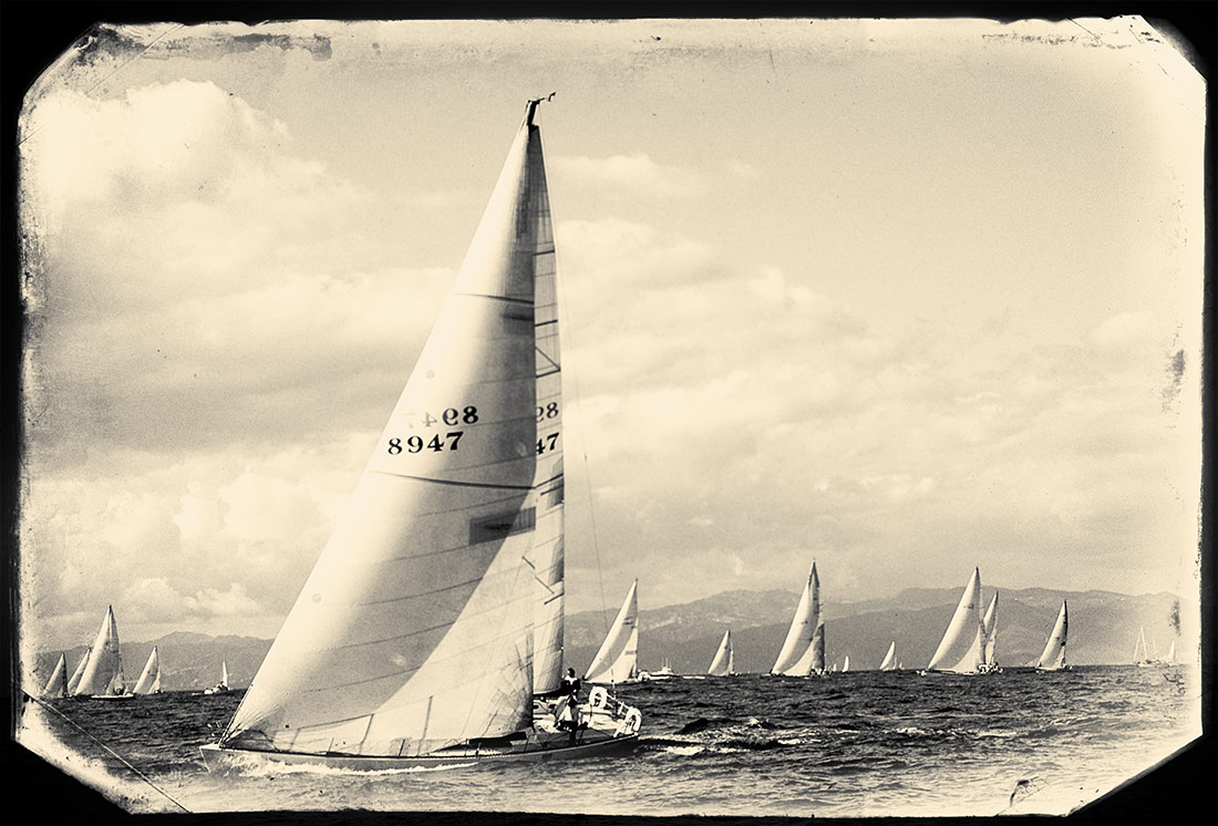 Racing in Marina Del ray