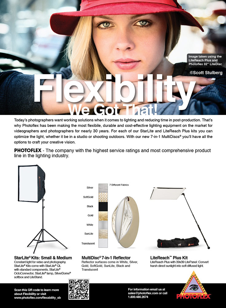 Shutterbug Magazine ad for Photoflex