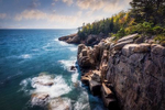 The cliffs of Acadia