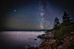 The Milky Way over Acadia