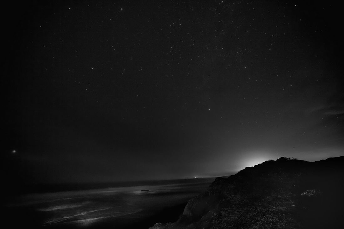 Cambria after dark