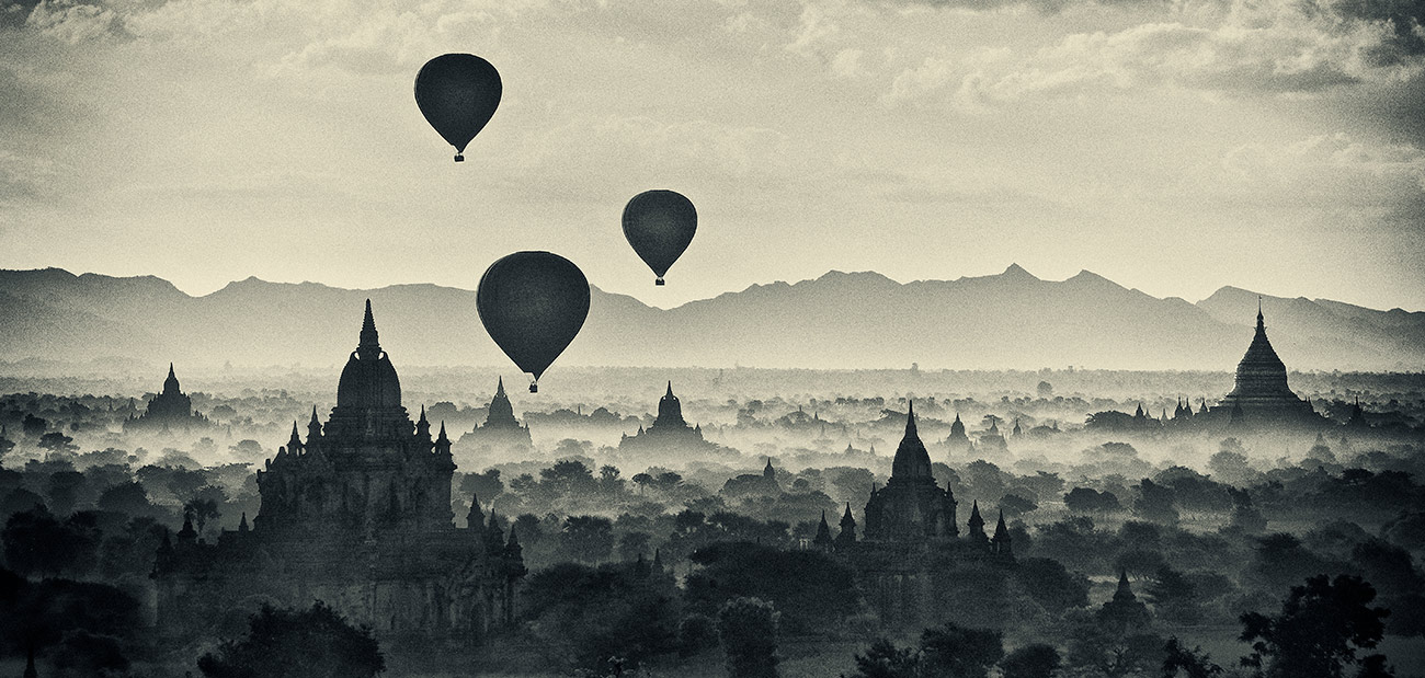 Balloons over Bagan, Burma